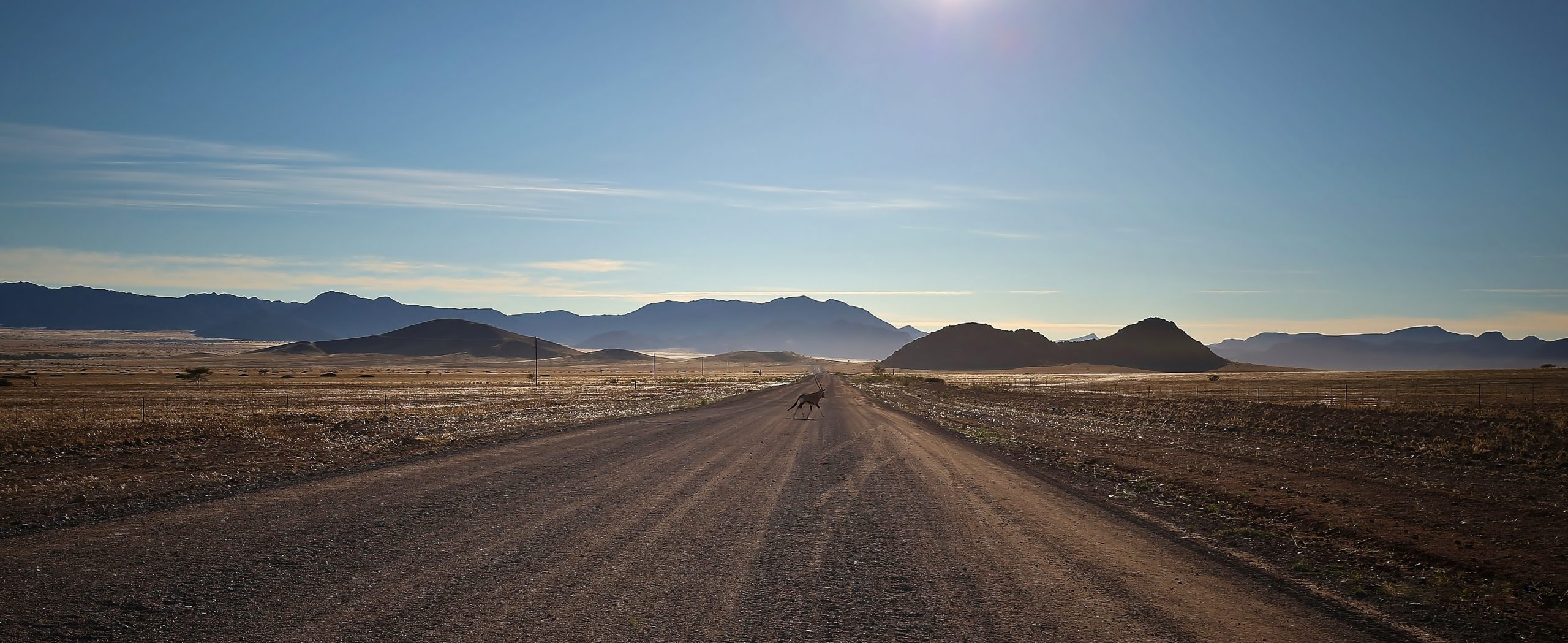 On the road again, Namibie