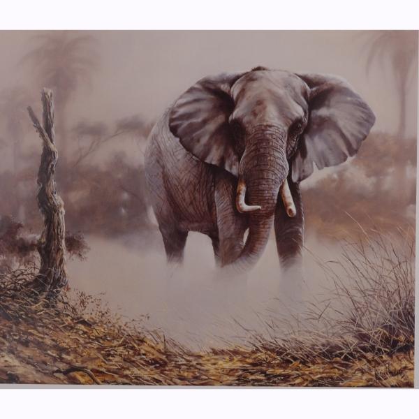 Elephant Dusk