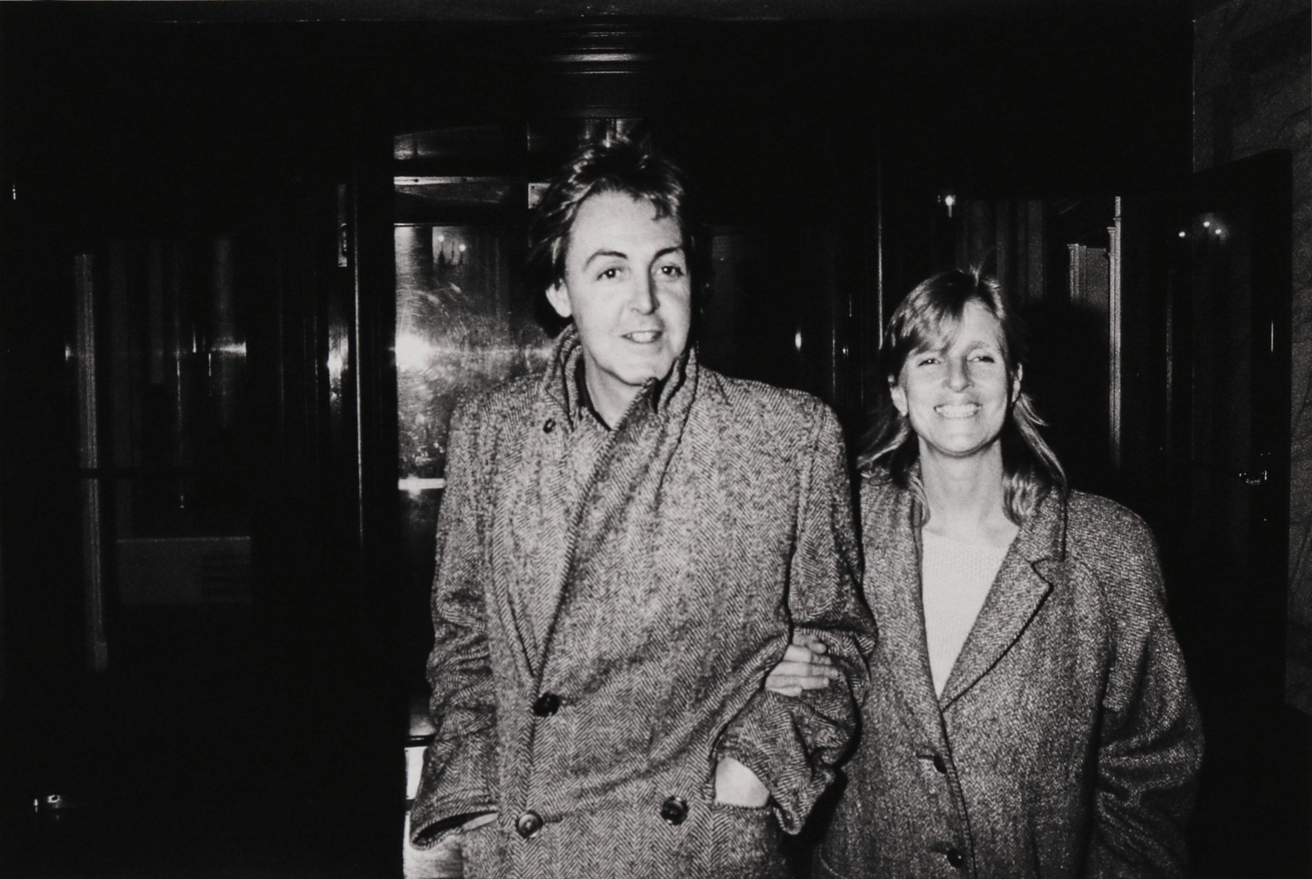 Paul and Linda McCartney 1983