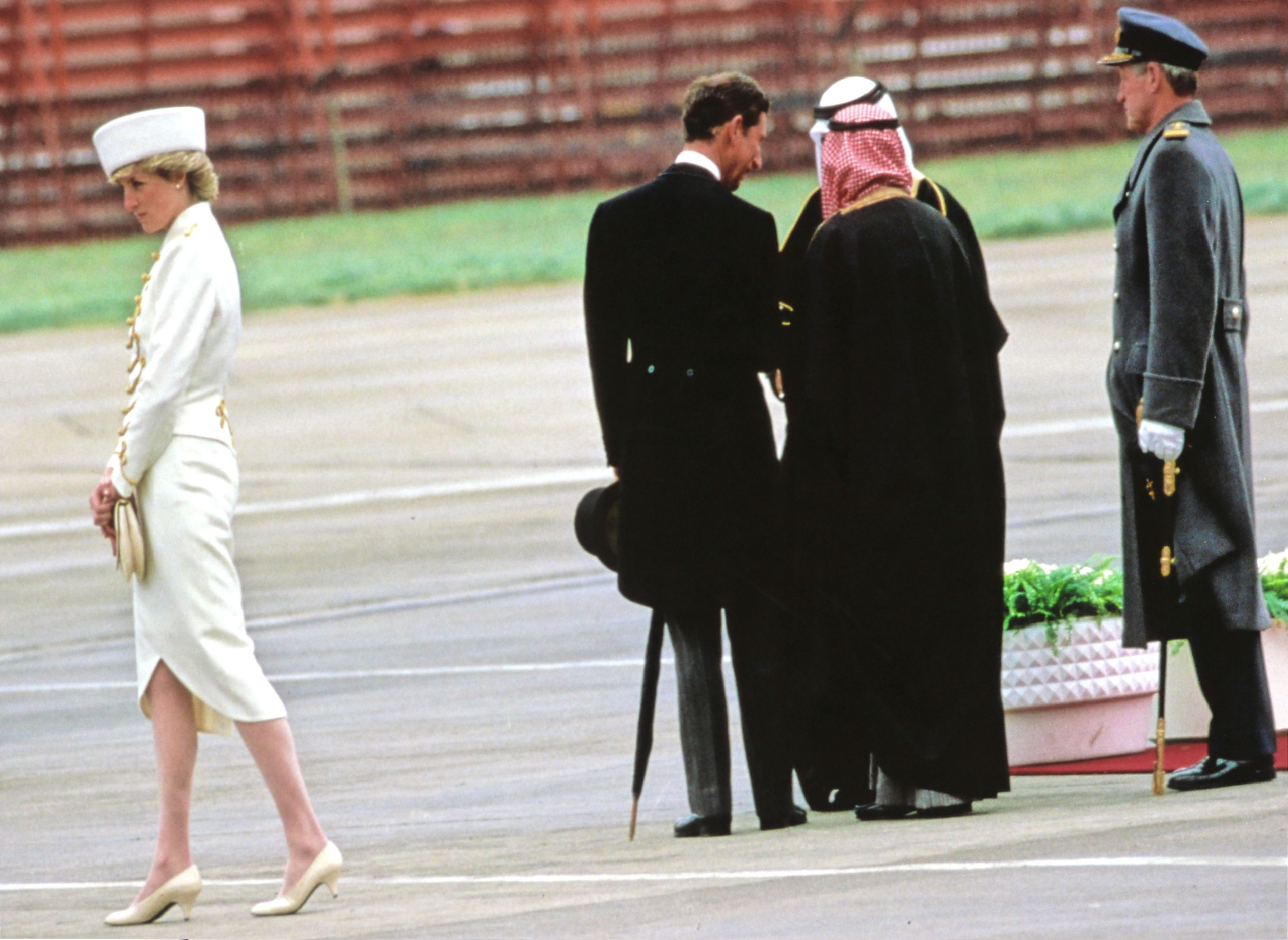 Princess Diana Walking Away
