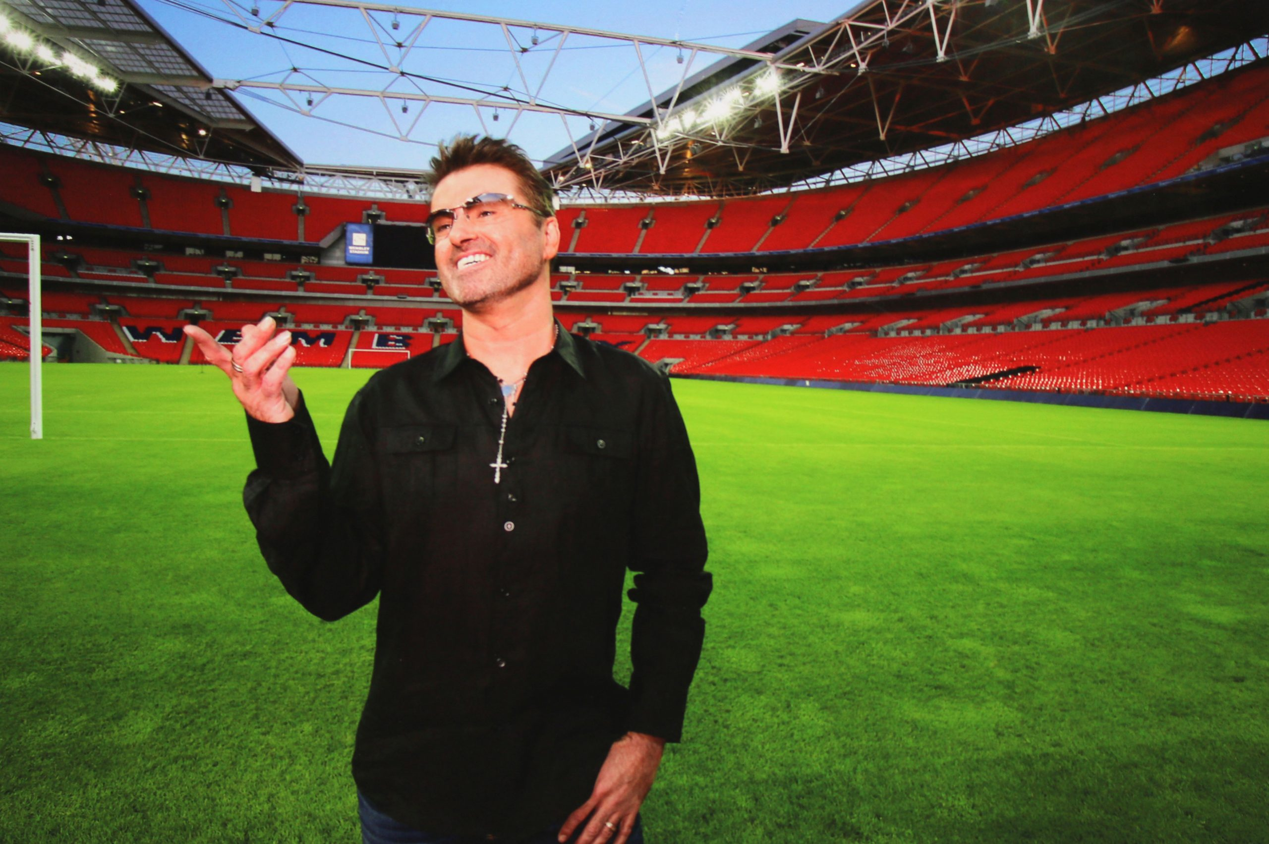 George Michael at Wembley