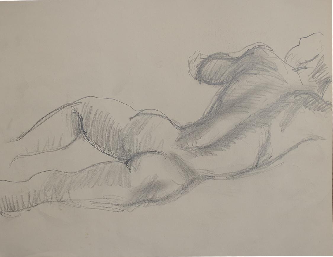 Nude Sleeping male .1