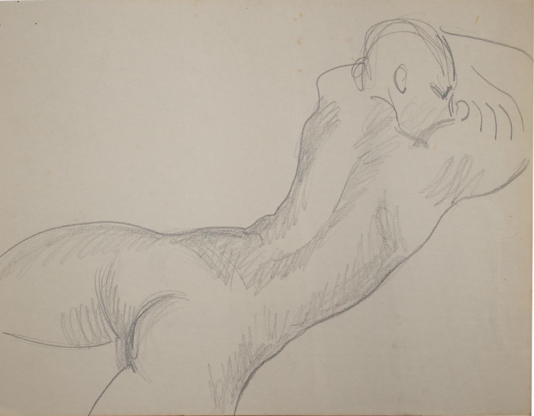Nude Sleeping male 3